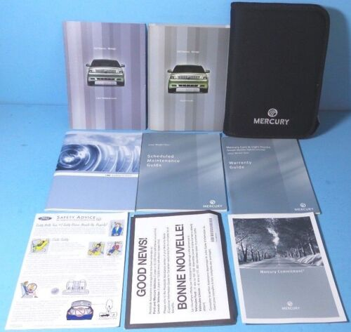 07 2007 Mercury Montego owners manual