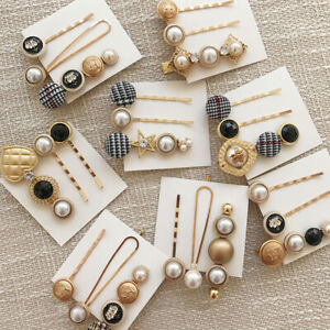 3Pcs-Fashion-Pearl-Hair-Clip-Hairband-Comb-Bobby-Pin-Barrette-Hairpin-Headdress