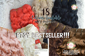 SystéMatique Rerooting Blythe Kit Rehairing Cheveux Outil Pullip Doll Aiguille Custom Fdessus Mohair-afficher Le Titre D'origine