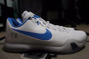 NEW Nike iD Kobe 10 X Elite SZ 11 White Baby Blue  4677f01bb1