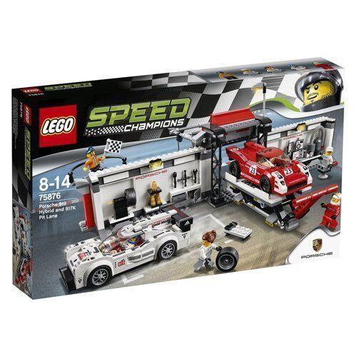 Lego 75876 - Puesto Reparación para Porsche 919 Hybrid y 917K - NUEVO