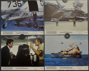 Action- & Spielfiguren PräZise Final Countdown 1980 Original 8x10 Lobby Karte Set Kirk Douglas Martin Sheen