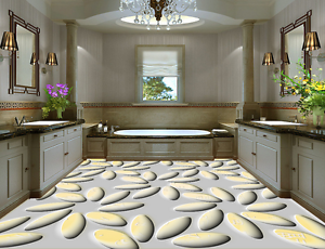 3D Stone Pattern 954 Floor WallPaper Murals Wall Print 5D AJ WALLPAPER UK Lemon