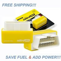 1 Obd2 Nitro Performance Chip Gas/fuel Saver Dodge Nitro 2007-2012