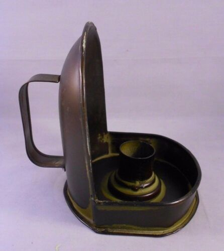 Small Farmhouse Sconce Metal Vintage-Style Taper Candle Holder with Handle