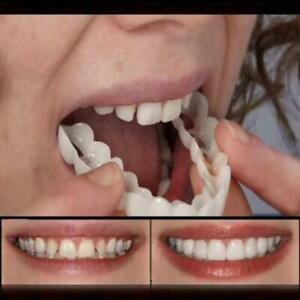 Set-Upper-amp-Lower-Magic-Teeth-Brace-Temporary-Smile-Comfort-Fit-Cosmetic-Denture