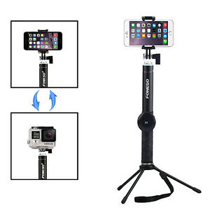 extendable wireless bluetooth shutter selfie monopod stick for iphone 6 samsung ebay. Black Bedroom Furniture Sets. Home Design Ideas