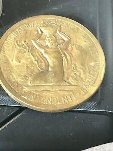 Rare Medallion President of Argentina (1927)  Dr Marcelo Torcuato de Alvear