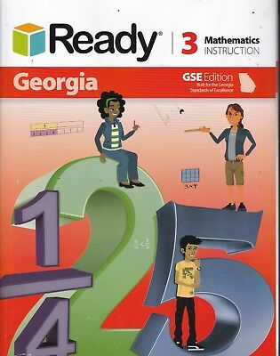 Ready Georgia Mathematics Instruction GSE Edition Grade 3 NO WRITING 9781495733925 EBay