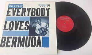 Stan-Seymour-Everybody-Loves-Bermuda-Edmar-Records-Autographed-MINT-VINYL