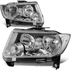 Headlights For  WK Jeep Grand Cherokee  2010 2011 2012 2013 NEW Pair