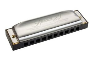 HOHNER Special 20X Classic 560/20X 10-Holes Harmonica Key of Ab