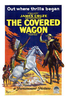 The Covered Wagen Movie Poster Replica 13x19 Photo Print