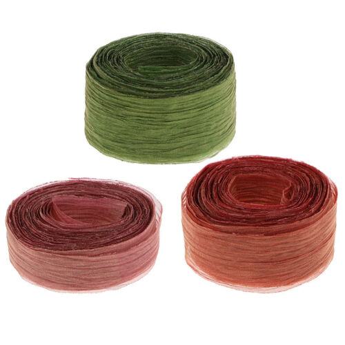 Widely Used Colored  Ribbons Strings Clothes Decor DIY Craft Supplies