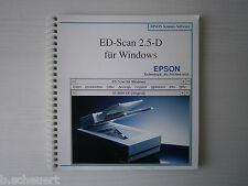 😍 Anleitung - Epson - Scanner - ED-Scan 2.5-D - ultra rar