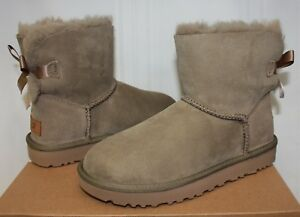 1d7d4e5adcc UGG Women s Mini Bailey Bow II 2 Antilope Suede New With Box!