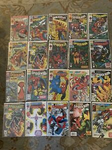 Spider-Man-Lot-1-17-Todd-McFarlane-25-28-41-42-21-Book-Lot-All-NM