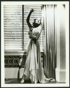 CAROLE LOMBARD STUNNING in EVENING GOWN Original Vintage 1936 PORTRAIT Photo