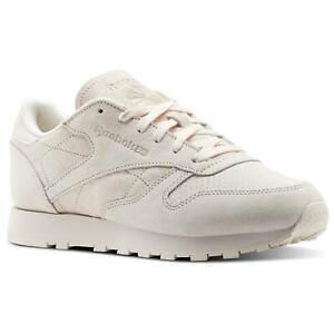 REEBOK-CLASSICS-WOMEN-039-S-LEATHER-NUBUCK-TRAINER-PINK-SNEAKERS-SHOES-WALKING-SALE