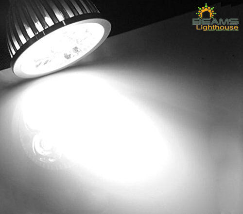 GU10//MR16 DIMMABLE 6W 8W 9W WARM// COOL WHITE White CREE LED Light Bulb Spotlight