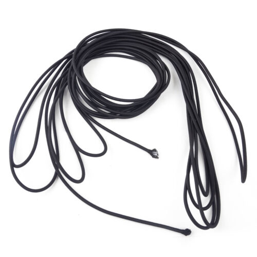 10M 4mm Strong Elastic Stretch Shock Cord Rope String Durable Tie Down DIY Black
