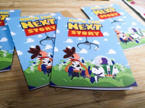 Buzz New Job House Onto The Next Story Card Wedding Goodluck Toy Story