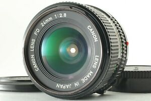 [Exc+5] Canon New FD NFD 35mm f2.8 MF Wide Angle Lens From