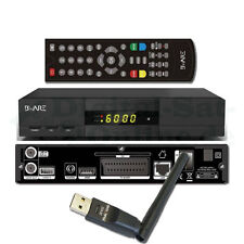 ►Digitaler SAT Receiver BWare HK 490 CA 1080p Full HD LAN USB inkl. Wlan BEWARE
