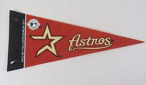 MLB-Houston-Astros-Mini-9-034-Pennant-Baseball-Souvenir-Rico-Tag-Express