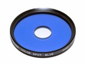 Centre-Spot-Blue-Filter-55mm-thread-made-in-Japan