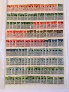 GERMANY-DEUTSCHES-REICH-11-DEALER-STOCK-PAGES-FULL-OF-STAMPS-MINT-NH-amp-USED