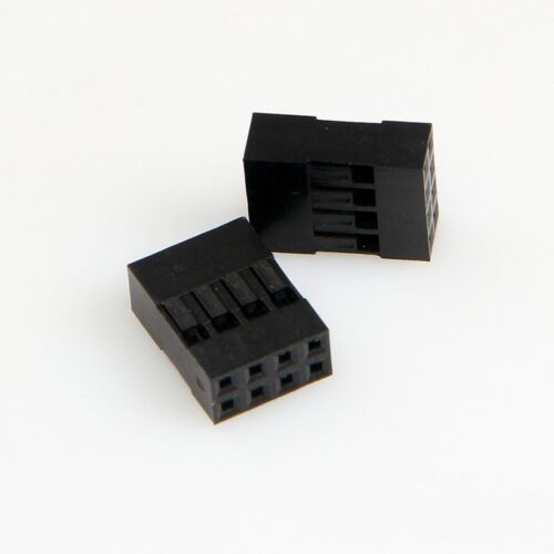 1P 2P 3P 4P 5P 6P 7P 8P 9P 10P 12P 16P 20P carcasa de plástico DuPont cabeza 2.54mm 2x