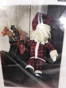Better-Homes-amp-Gardens-SANTA-Doll-w-Toy-Bag-Craft-Kit-1998-Christmas-Holiday
