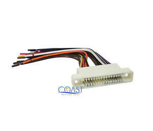 car radio stereo wiring harness for 2000 2005 buick lesabre pontiac rh ebay com