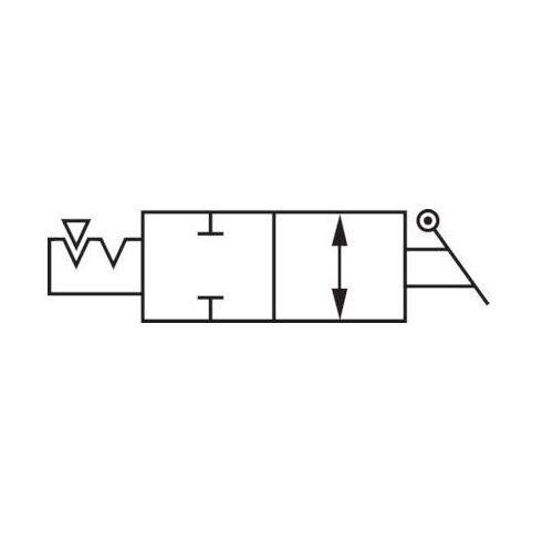 Steckanschluss Pneumatik-IQS Schott-Absperrhahn m Schottgew Absperrhahn Luft