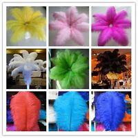 Wholesale! 5-100 pcs ostrich feathers (6-24 inch / 15-60 cm) 12 colors