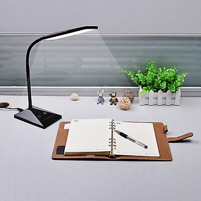 12W Touch Sensor Flexible Dimmable 7 LED Desk Table Lamp Bedside Reading light