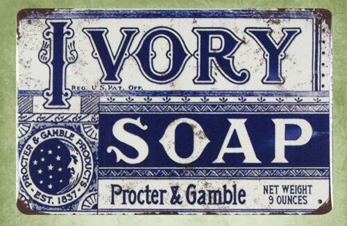 signs for sale Ivory soap Procter /& Gamble tin metal sign US SELLER