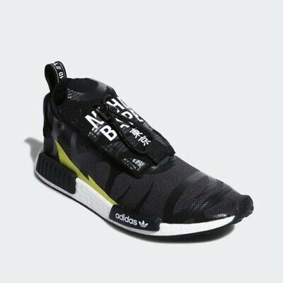 sale retailer 1bdef 2340a New Adidas Men's Originals Bape x Neighborhood NBHD NMD Stealth -  Black(EE9702) | eBay