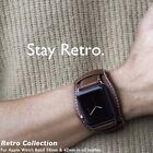 Kajsa Vintage Genuine Leather Strap Cuff Wrist Band For Apple Watch 38mm / 42mm