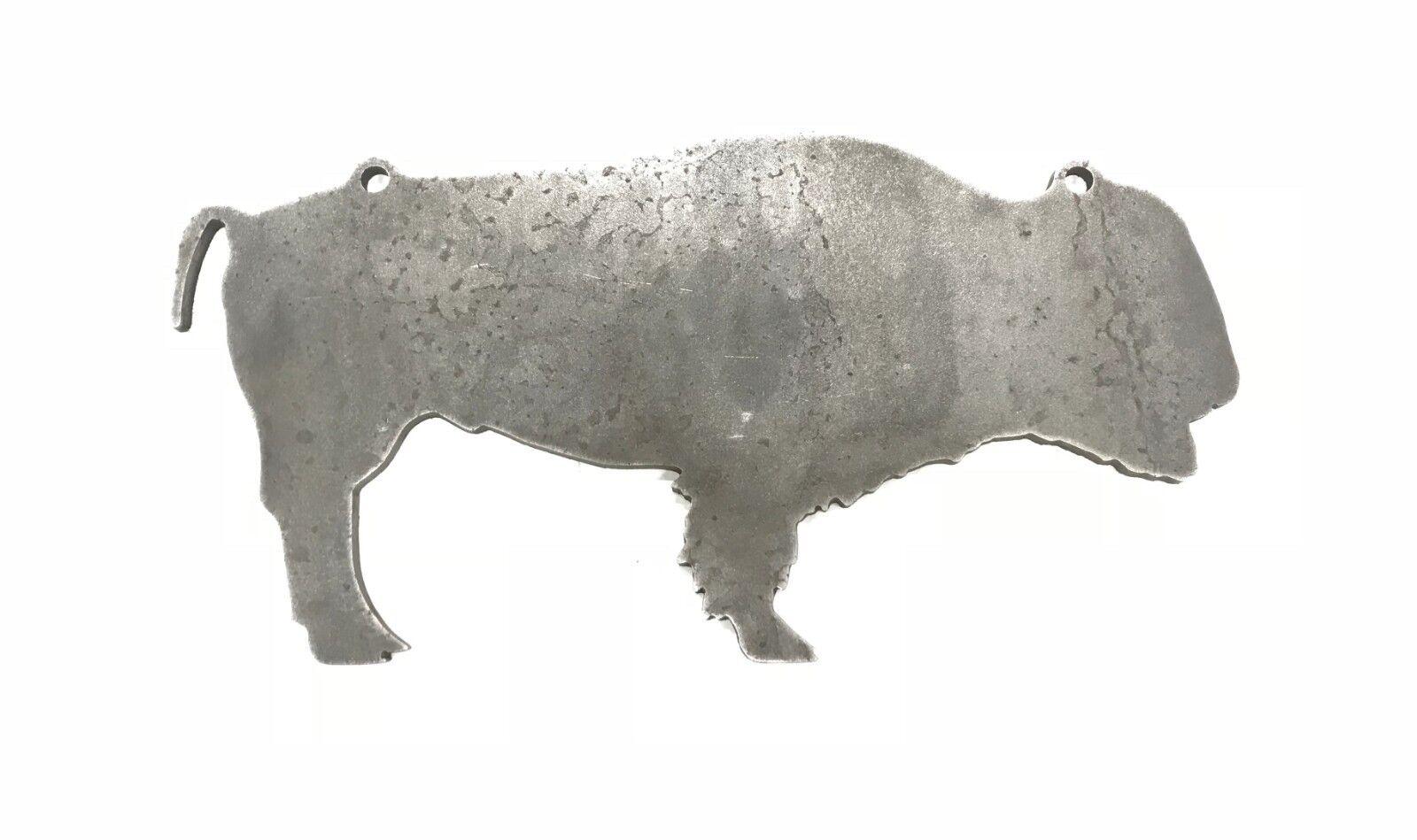 AR500 Buffalo Bison Silhouette Acier Cible Gong 24  X 12  X 3 8