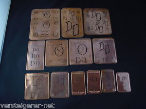 13-x-DO-Merkenthaler-Monogramme-Kupfer-Schablonen-Stencils-Patrons-broder