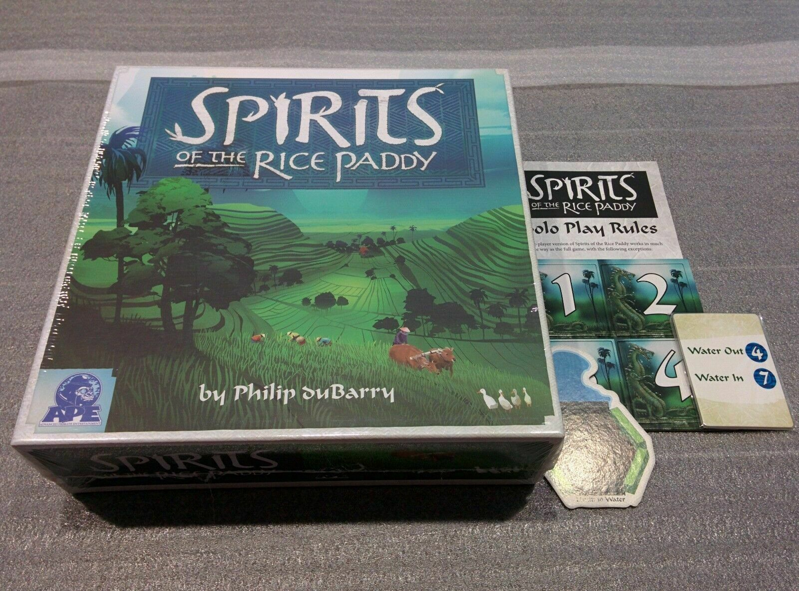 Spirits of the Rice Paddy - ApeGames
