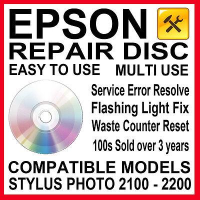 Epson Stylus Photo R280 R285 R290 Flashing Light fix Repair Service Reset