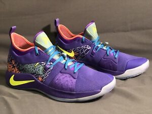 buy popular 18b2f 09e7a Details about New Men's Size 14 Nike Paul George 2 Mamba Mentality Purple  AO2986-001
