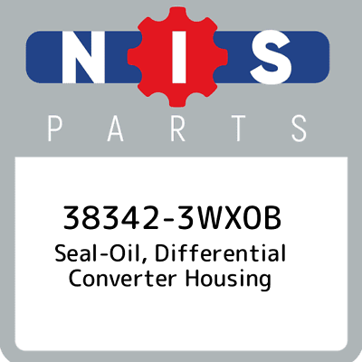38342-3TX0A Genuine Nissan Differential Oil Seal