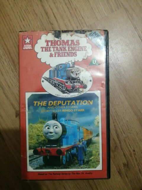 Genuine Vintage Thomas The Tank Engine & Friends VHS The Deputation  (VGC)