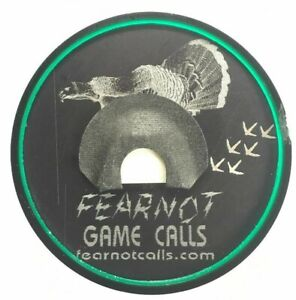 """Double Reed Mouth Call /""""New/"""" Turkey Hunting FearNot Game Calls Yelper"""