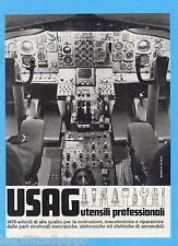 QUATTROR981-PUBBLICITA'/ADVERTISING-1981- USAG UTENSILI PROF. (versione A)