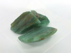 Aventurine Rough 3 Pc's (EA5076) cutting gem stone healing creativity money